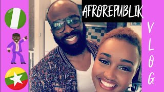 VLOG|| Afrorepublik 🕺🏽, He hates my shoes 😢, First time we ever 😱