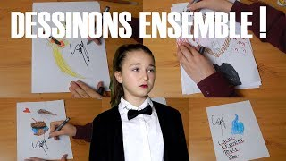Dessinons Ensemble // Satine Walle