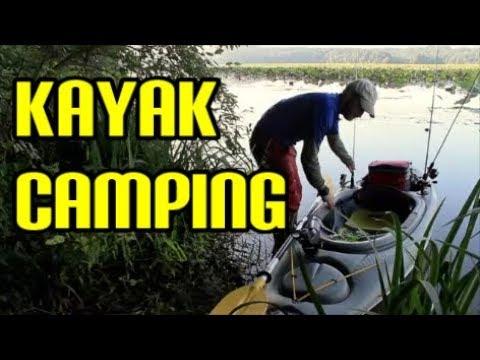 Kayak Overnighter - Fishing and Hammock Camping