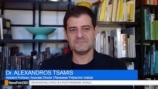 Image for vimeo videos on Dr. Alexandros Tsamis on Reinventing City Planning in a Post-Pandemic World