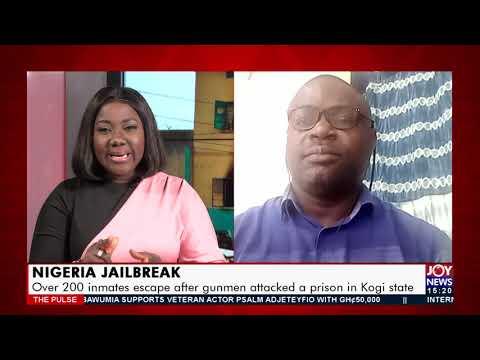 Nigeria Jailbreak: Over 200 inmates escape after gunmen attacked a prison in Kogi state (14-9-21)