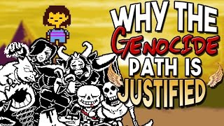 Why Undertale's Genocide Path is JUSTIFIABLE | Undertale Theory | UNDERLAB