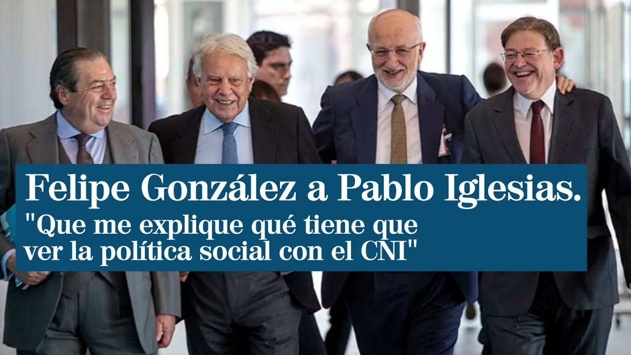 González cuestiona que Iglesias controle al CNI sin competencias