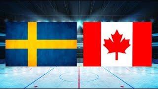 Sverige mot Kanada (1-3) – Jan. 6, 2018   Höjdpunkter/Mål   Junior VM 2017/18 Final