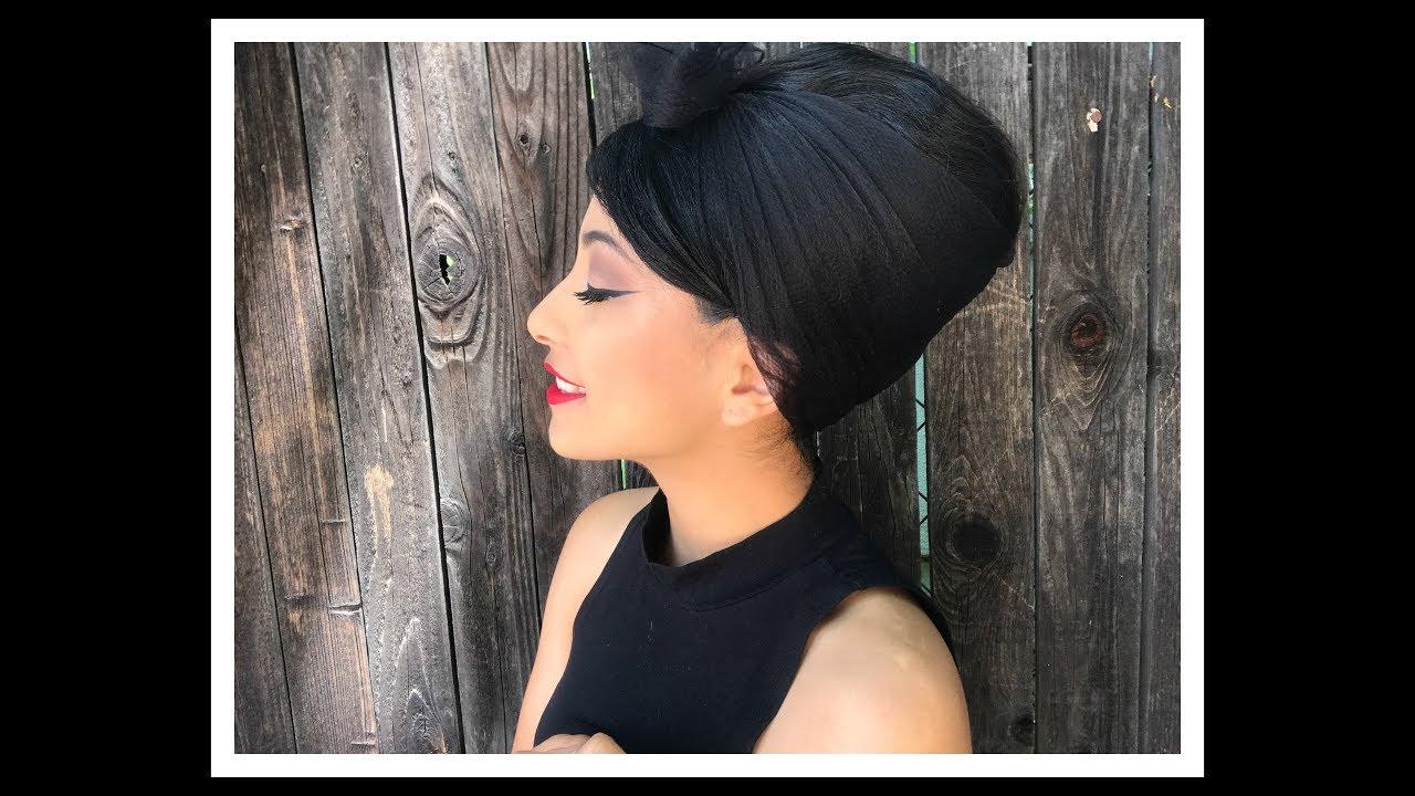 Peinado De Los Anos 60 Miss Miriam Youtube