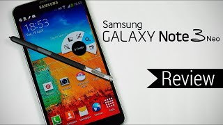 Samsung Galaxy Note 3 neo Hands-On review 2021.