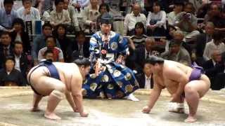 2013年10月6日(土)、高見盛引退振分襲名披露大相撲に行ってきました! ...