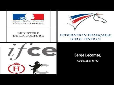 FFE / IFCE «Equitation de tradition française» Serge Lecomte