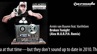 Armin van Buuren feat. VanVelzen - Broken Tonight (Alex M.O.R.P.H. Remix) [Hands On Armada Preview]