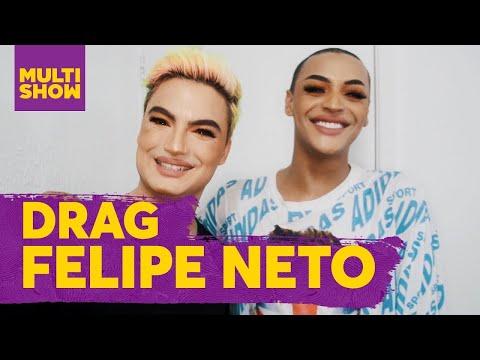 Drag Queen | Felipe Neto + Pabllo Vittar | Prazer, Pabllo Vittar
