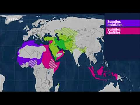 Die Weltkarte Der Religionen Mit Offenen Karten Youtube