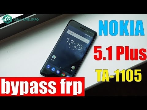NOKIA 5.1/ 5.1 Plus (TA-1105) | How To Hard Reset & Bypass FRP Google Account