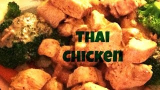 Cooking With Joe: Thai Chicken