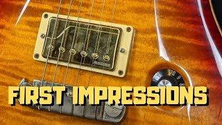 Fishman Fluence Classic Humbuckers - First Impressions