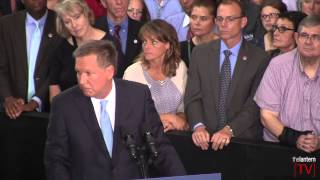 Governor John Kasich's Presidential Candidacy Announcement