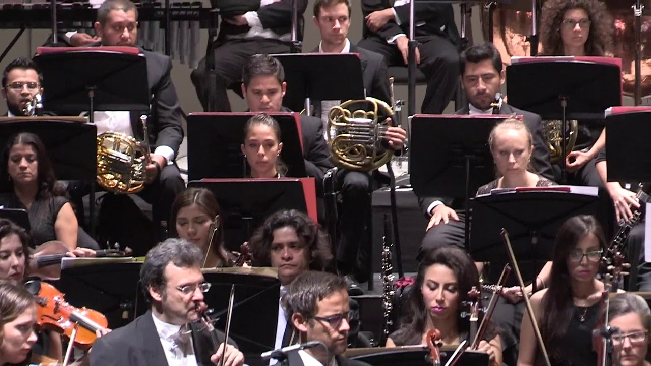 Temporada Otoño/Invierno OSSLA 2017, Bolero/Maurice Ravel. Parte 1 ...