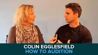 Colin Egglesfield on Learning how to Audition for Movies and TV with Margie Haber