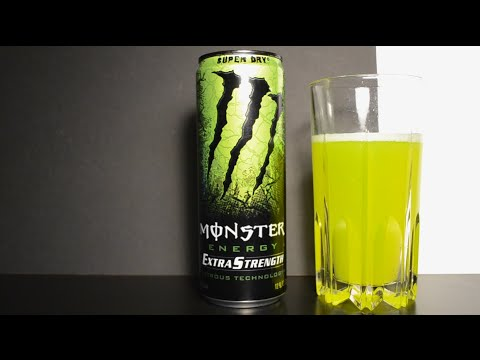 Monster Extra Strength Super Dry - Energy Drink Review