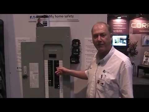 Eaton BR Breaker Panel Overview - YouTube
