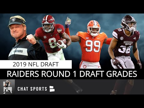 Raiders Round 1 Draft Grades: Clelin Ferrell, Josh Jacobs, Johnathan Abram To Oakland 2019 NFL Draft