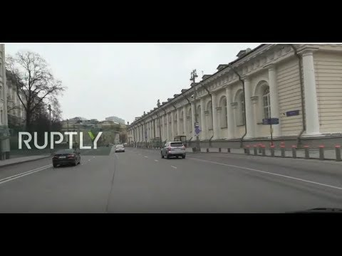 LIVE From Moscow As Russia Battles Coronavirus