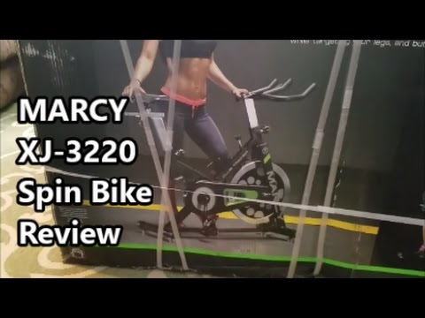 Marcy XJ-3220 Spin Bike Review | Giveaway Contest Winner!!