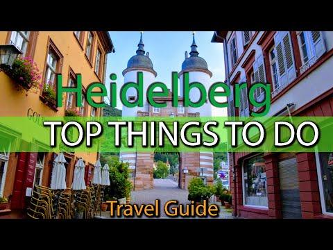TOP THINGS to do in Heidelberg, Germany   Travel Guide   Weekend Guide