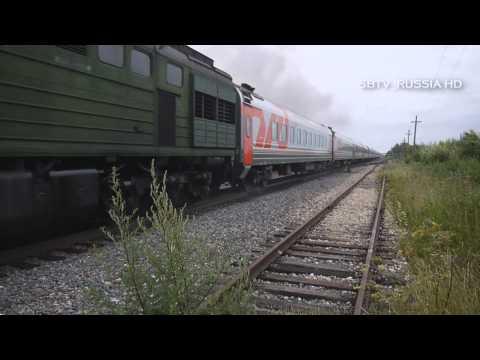 """Прибытие поезда №316 """"Поморье"""""""