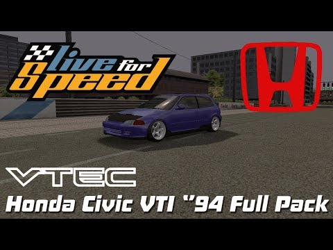 "LFS - Honda Civic VTI ""94 Full Pack"