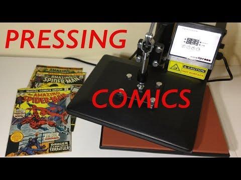 Pressing Comics with HEATPRESS