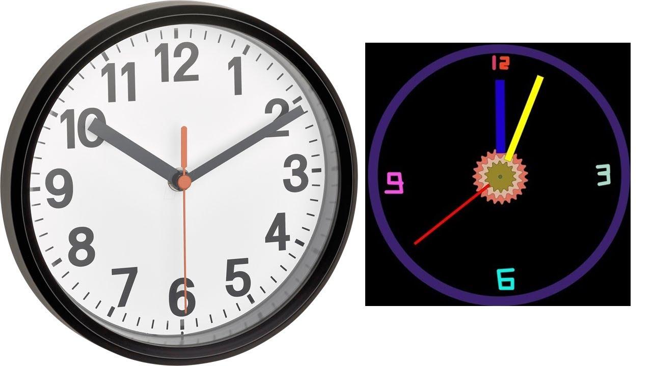 How To Create Clock (Animated) In Algodoo: Tutorial 7