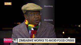 Zimbabwe Finance Minister Discusses Food Shortage, Economy