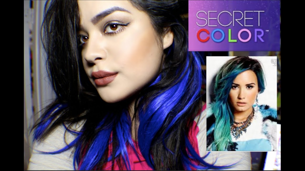 DEMI LOVATO SECRET COLOR EXTENSIONS REVIEW AND UNBOXING  YouTube
