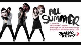 All Summer - Kid Cudi, Vampire Weekend and Best Coast (Download Link)