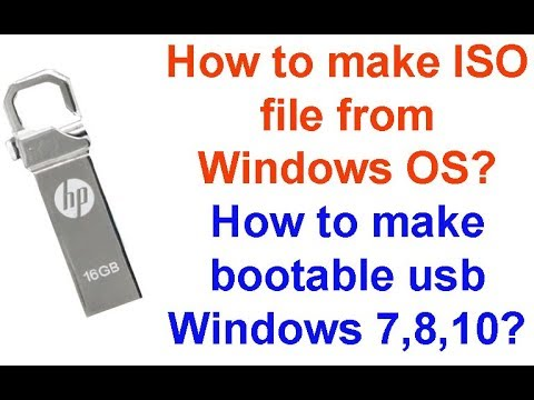 how to make windows iso