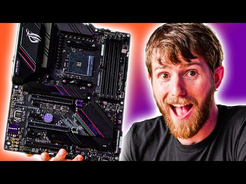 My first motherboard unboxing in 6 years - ASUS B550