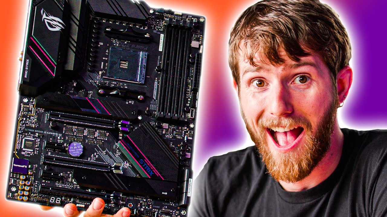 My First Motherboard Unboxing In 6 Years Asus B550 Youtube