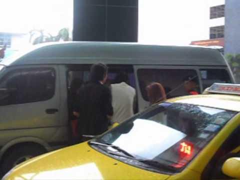 ส่งเซนขึ้นรถ@ร.พ.พระมงกุฎเกล้าฯ