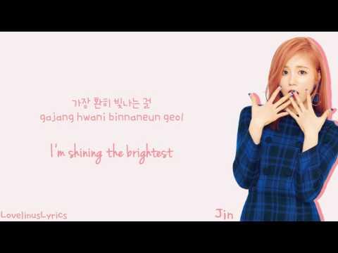 LOVELYZ - 새벽별 (Morning Star) (Babysoul & Kei & JIN) - Lyrics (Color Coded/Han/Rom/Eng)