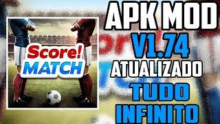 🔴 ▶ Score! Match v1.74     | Download + Dinheiro Infinito - [SEM ROOT] ◀🔵