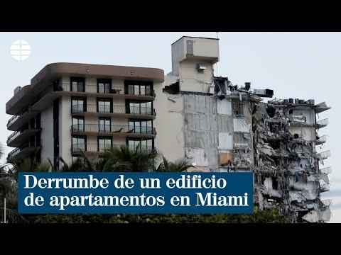 Al menos un muerto en el derrumbe de un edificio de apartamentos en Miami Beach