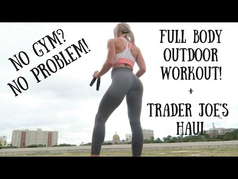 FULL BODY AT HOME OUTDOOR WORKOUT!