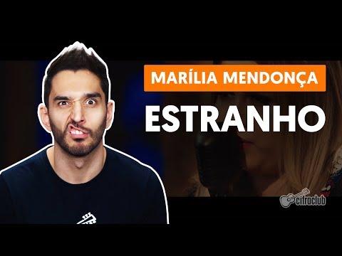 Como tocar no violão: ESTRANHO - Marília Mendonça versão simplificada