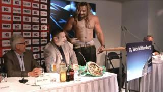 """""""Duell der Knock-Outer"""" mit den Boxern Vitali Klitschko und Shannon Briggs"""