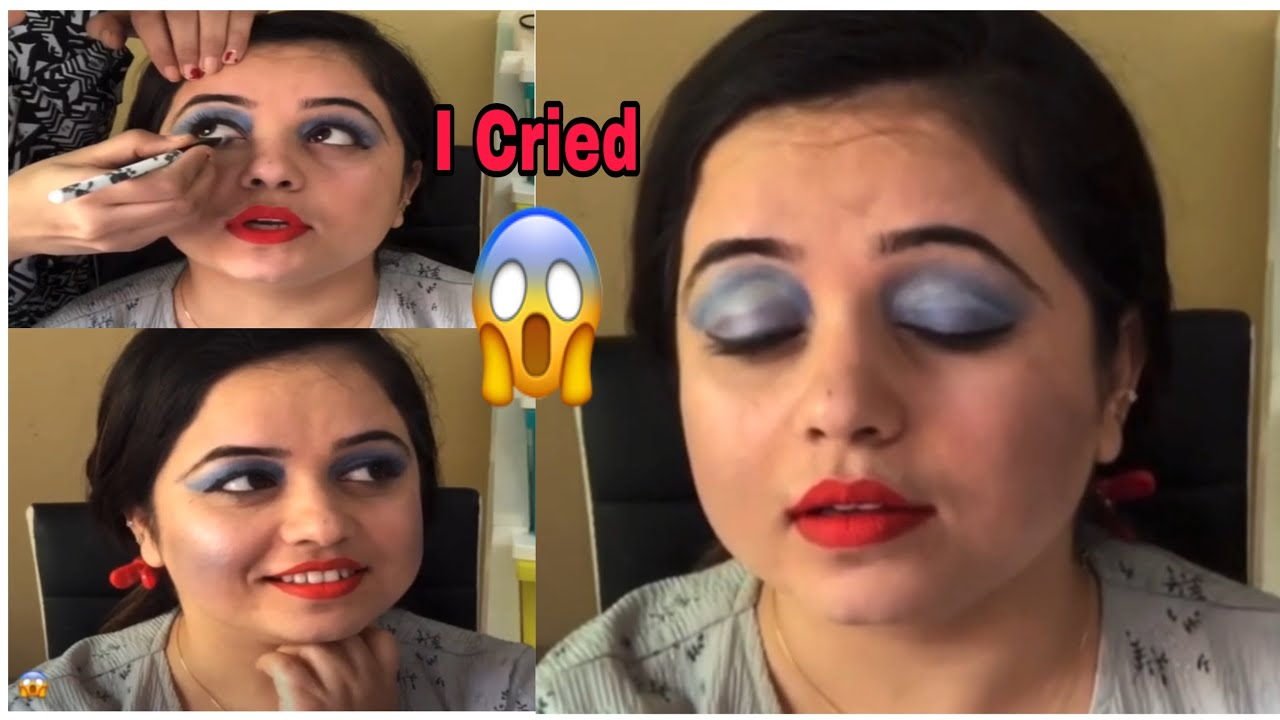 I Went To The Worst Reviewed Indian Makeup Artist In Congo(Africa). I cried 😥