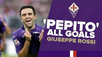 Fiorentina - All Giuseppe Rossi Goals