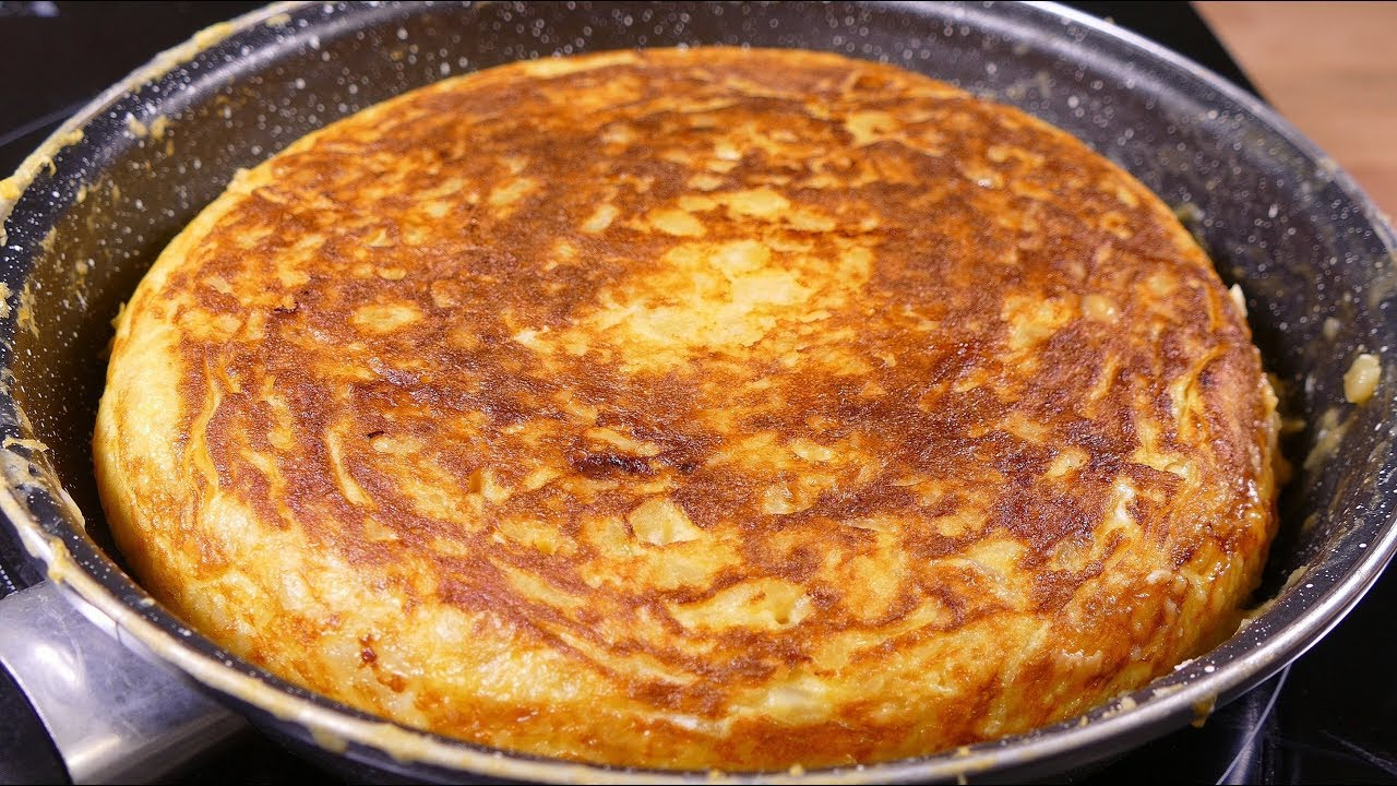Tasty spanish potato omelette cooking easy food recipes for dinner tasty spanish potato omelette cooking easy food recipes for dinner to make at home forumfinder Images