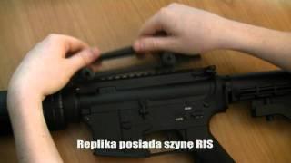 Prezentacja repliki M4A1 firmy AGM