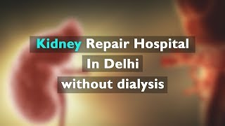 The Kidney Repair Hospital In Delhi without dialysis