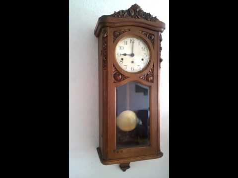 Antique Kienzle Westminster chime wall clock